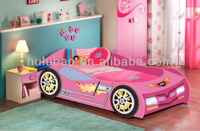 KIDS Racing Car Bed E1 MDF kids hot sale car bed children furniture