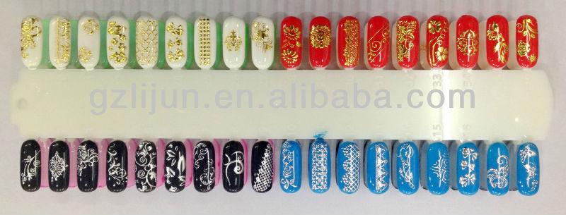 2013New design nail stickers ,nail art sticker ,design sticker nail art