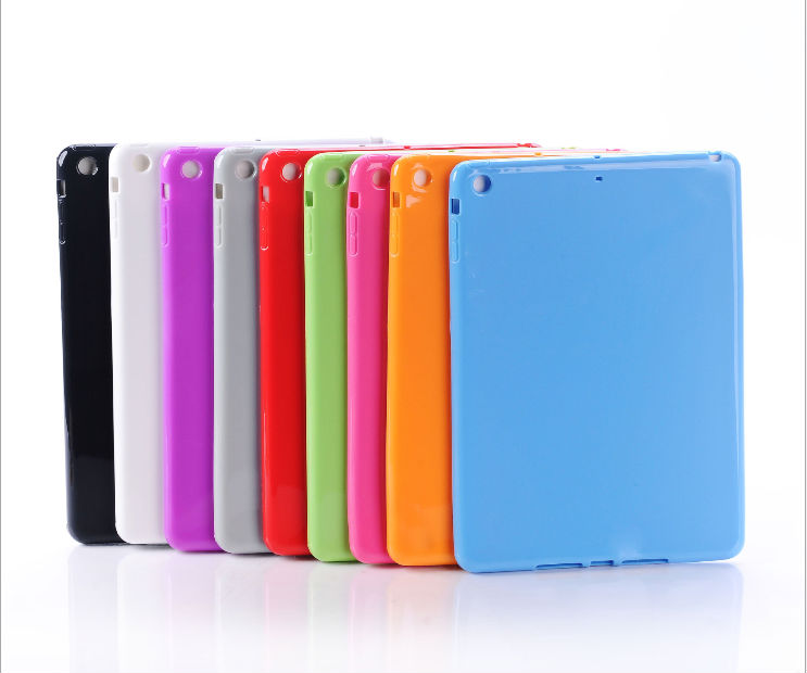 New Silicone Back Cover for iPad 5,For iPad 5 silicone case cover