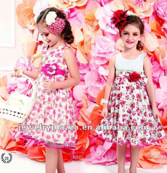 Modelos de vestidos de nina 2012