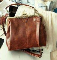 новой женской моды сумочку тотализатор корейский ретро сумки Пу кожа сцепления Хобо Дамы сумка случайных кошелек nb0054