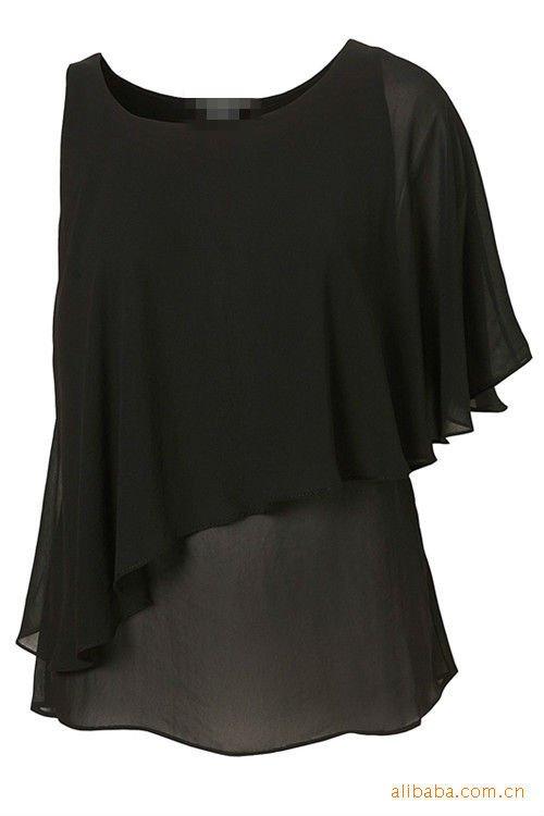 yigelila damas de la moda un hombro chif n 719 superior mujer