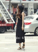 Женское платье Ladies' cotton fabrics comfortable breathely even hat dresses new fashion 2013 in 2 color A40