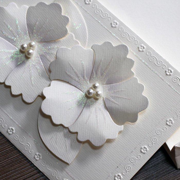 Glittering Wedding Invitation With Paper Handbags -----t005 - Buy