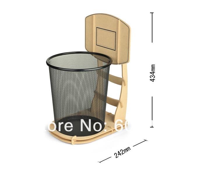 Buy free shipping 1piece cool diy basketball stand wastebasket basketball - Basketball waste paper basket ...