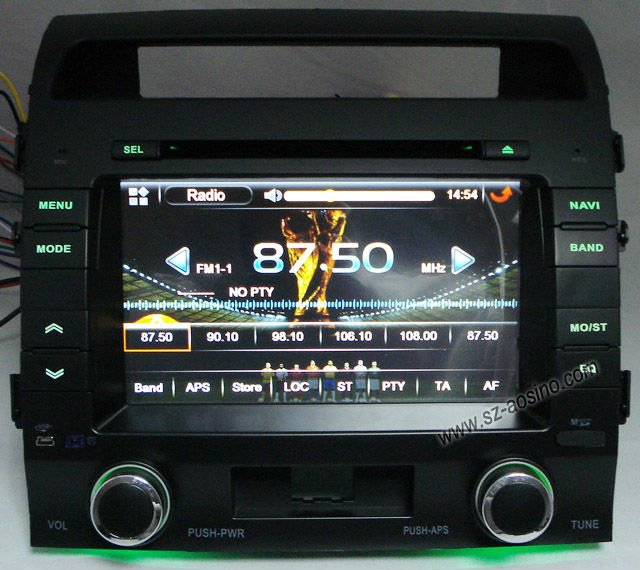 Special Car DVD / Car radio / Car gps for TOYOTA LANDCRUISER 200 (2008-2010)/FJ CRUISER