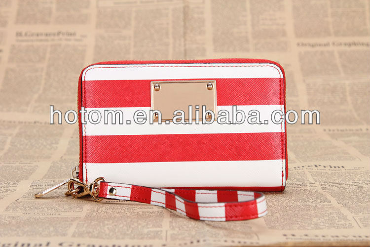 fashion design new wallet women handbag mobile phone bag for iphone 5