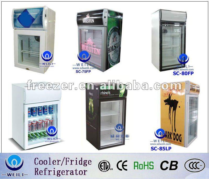 Commercial Beverage Refrigerator Glass Door 20l Commercial Glass Door Mini