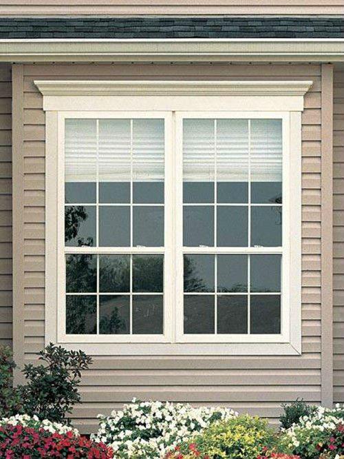 Thickness Aluminum Modern New Window Grill Design