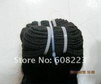 human hair, 100% brazilian  hair 4pcs/lot color1b# 280g/lot , body weave 22 inches , DHL free shipping