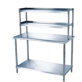 304 de acero inoxidable mesa de trabajo para la cocina y - Mesas de trabajo para cocina ...