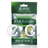 Зеленый подключение vga адаптер девушки: девушки d-sub15-контактный vga кабель серии прямо голову / рот сигнал расширение