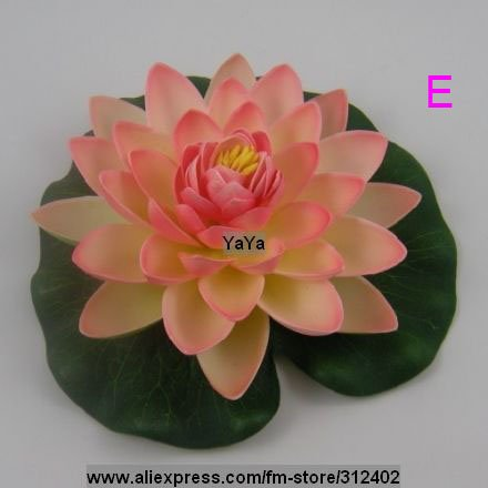 High Quality Simulation Flower 18cm Lotus Flower Holiday Decoration Wedding Ornaments Adornment Flower Model