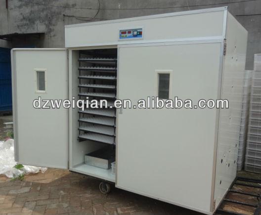 CE Marcado WQ-2640 baratos incubadoras automáticas de ovos para venda (2640 ovos)