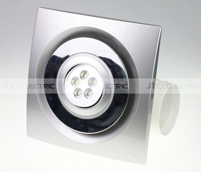 cuisine salle de bains ventilateur dextraction de plafond avec led - Ventilateur Salle De Bain Lumiere