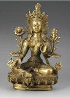 Статуя RARE Statue bronze CINESI del Buddha
