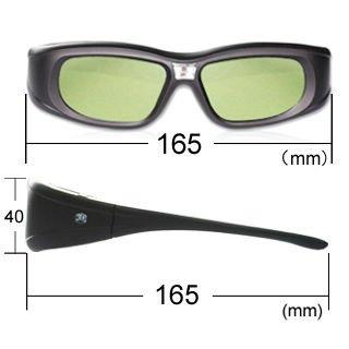 DLP Link projector 3D active shutter glasses for Topoma,vivitek,Acer,Benq
