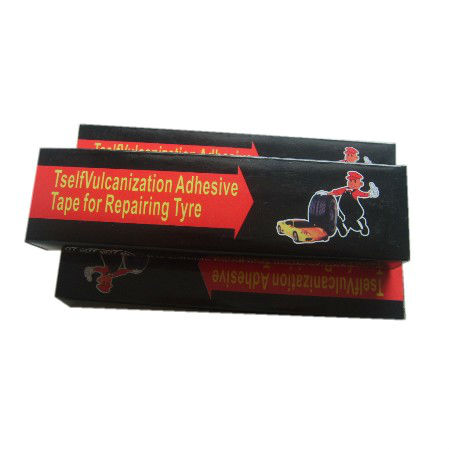 Tyre repair seal strings brown or black