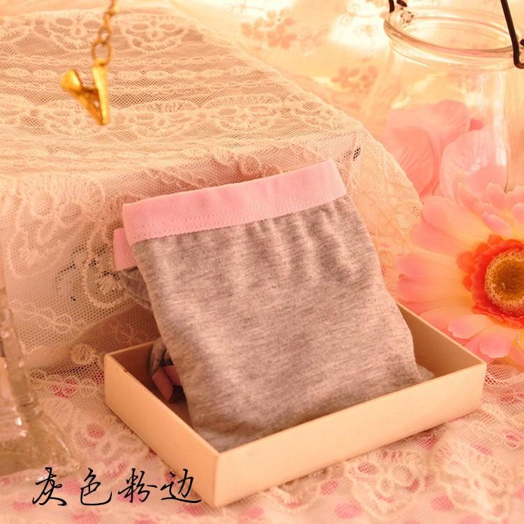 Женские трусики women / girl's Cartoon underwear solid candy color modal underwear ladies underwear
