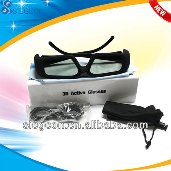New 2014 Best hot blue film video Rechargeable 3d -tv -polarized -red glasses With Ultimate Visual Experience