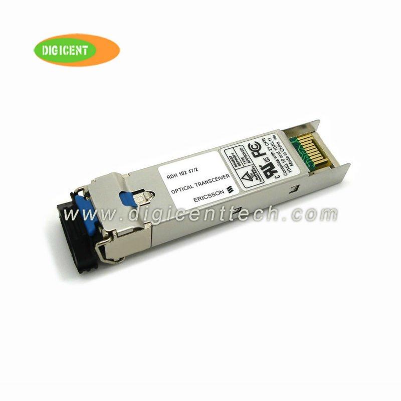 100%Genuine Ericsson RDH 102 47/3 2.5Gbps 1310nm 15km SFP optical transceiver