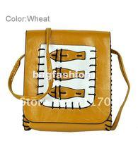 Маленькая сумочка cute handbags womenThree-fish Cross-body bags for girls Shoulder Tote Bag leather messenger bag drop shipping 5689