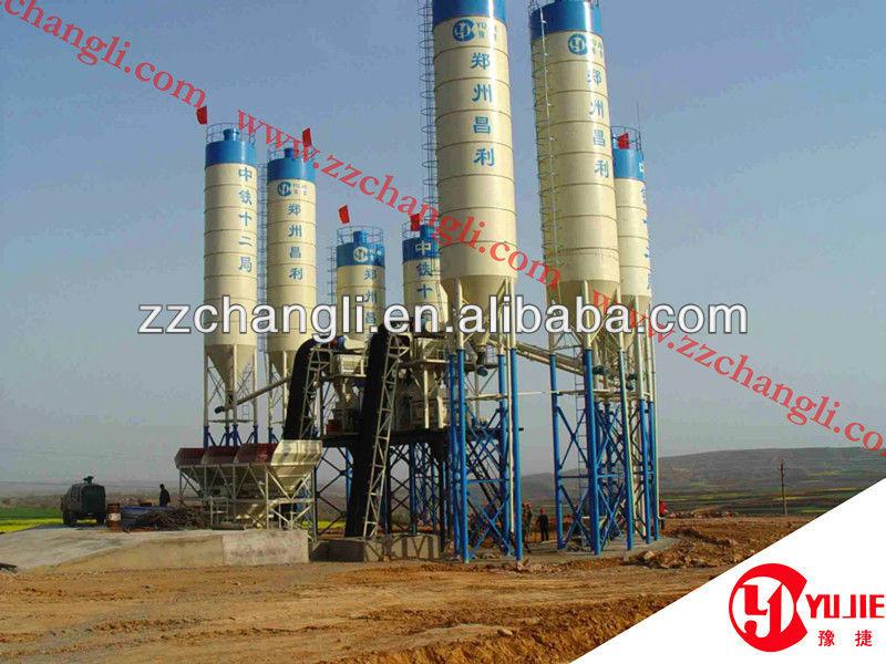 Changli Make HZS35 Cement Concrete Batching Plant 35m3/h