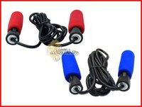 10 шт / много 2,6 метров Губка ручку подшипника упражнения, прыжки скакалкой черный / синий / красный