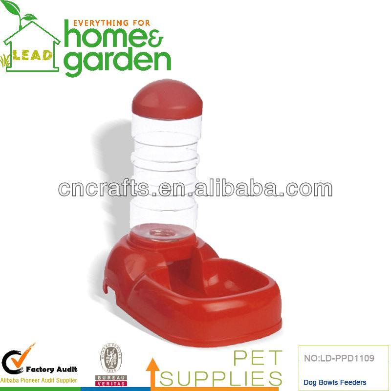 Plastic pet water feeder,pet water bowl