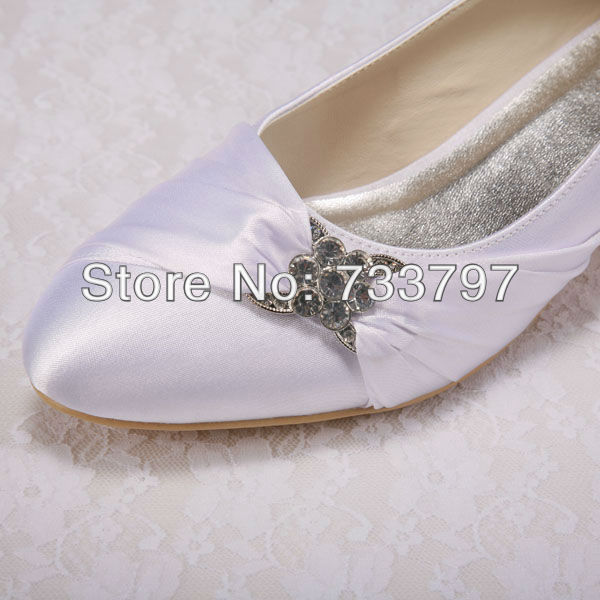 (20 Colors) Custom Handmade Size 10 Purple Wedding Shoes Low Heel Party Pumps