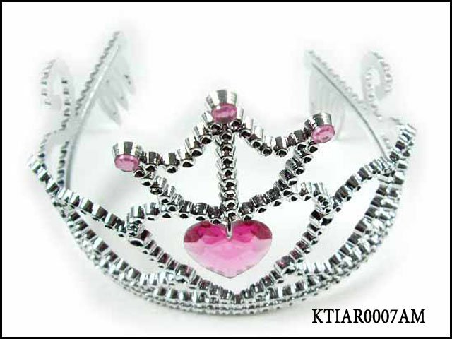 Pageant Crown With Butterfly Design