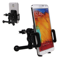 Универсальный автомобильный держатель 10pcs/lot Car Air Vent Mobile Phone 360 Degree Rotating Mount Holder Bracket Universal For iPhone iPod GPS LG Nexus 5 Samsung S4