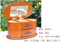 Музыкальная шкатулка Wooden music box ballerina jewelry box /music box /lover birthday gift ideas