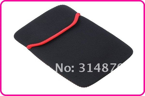 "Black Portable Soft Protect Cloth Cover Case Bag Pouch for 8"" Tablet PC MID Notebook,Free Shipping"