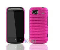 Чехол для для мобильных телефонов Hot Selling Ultra-thin mesh case/grid net cover case for HTC Mozart HD3 T8698