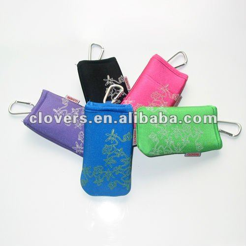neoprene waterproof bag for mobile phones