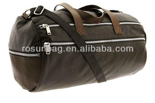 Imitation leather travel bag
