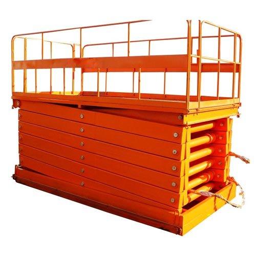 Stationary car lift lift platform
