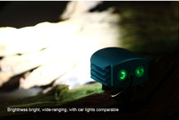Светодиодный фонарик CREE T6 light night owl double riding mountain bikes front headlight