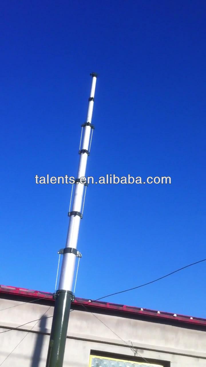 Мачта телескопическая для антенны