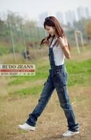 Женские джинсы New Lady Denim Jeans Overalls Jumpsuit Suspenders Trousers 04-6009