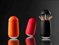 Подставка для зубочисток by CPAM creative novelty tumbler Plastic Toothpick Holder dispenser Box good toy black yellow white