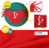 сексуальная Мужская модальных стринги стринги белье галстук спортивные Трусы мужские печать мультфильм искушение g строк белье одежда для человека