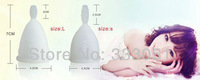 Гигиенический товар для женщин 2 PCS Purple Size L Menstrual Cups Lady Silicone Diva Cup Feminine Hygiene Products Reusable Cycle Cup