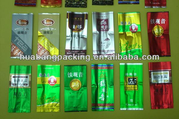 Custom Printed Empty Tea Bag Packing