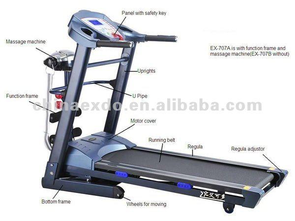 150t treadmill ironman keys