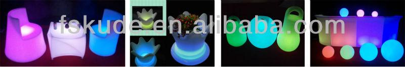 горячая продажа перезаряёаемые изменения цвета светодиодный светильник пола для рождество