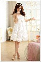 Платье для подружки невесты 2012 new bow decorated fashion bridesmaid party dresses CS-1007