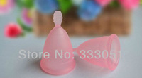 Гигиенический товар для женщин 2 PCS Purple Size L Menstrual Cups Lady Silicone Diva Cup Feminine Hygiene Products Reusable Cycle Cup