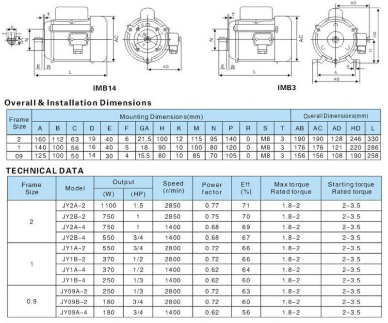 Single Phase Capacitor Start Induction Motor